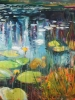 Lily Lake Reflections #4 (40x36 in) SOLD