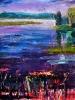 Evening 2, Emma Lake (40 x 40 in)