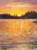Sunset Reflections #2 (8 x 8 in) SOLD