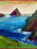 Skellig Calling, Ireland (14 x 11 in) - SOLD