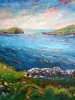 Sunset on Bolus Head #2 (40 x 40 in) GIFT