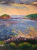 sunset on bolus head (26 x 34 in) SOLD