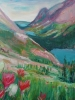 Paintbrush & Alpine Lakes (36x40 in)