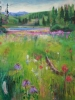 Wildflower Meadows (40x48 in) SOLD