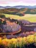 Autumn Vista (36 x 39 in) SOLD