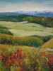 Foothills Vista & Autumn Fireweed (23x29 in) SOLD