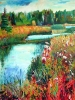 Meadows #7  (36 x 40 in)  SOLD