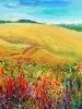 Wheatfield & Roadside Grasses (12x12 in) SOLD