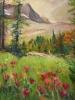 Sunshine Meadows & Paintbrush (36x40 in)
