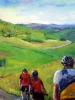 Ride for Life (40 x 48 in) - Tom Baker Centre