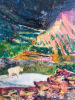 Goat, Akimina Ridge (9.5x6 in)