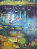 Lily Lake Reflections #2 (40x36 in) SOLD