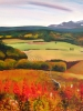 Foothills Vista in Autumn (36 x 40 in) SOLD
