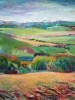 Foothills in Spring (48 x 40 in)