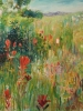Meadow Mosai & Paintbrush (40x48 in)