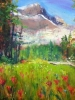 Paintbrush & Sunshine Meadows (16x20in)