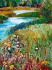 Meadows #1 (38 x 22 in) SOLD