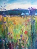 Meadows and Teepees (30x24 in) SOLD