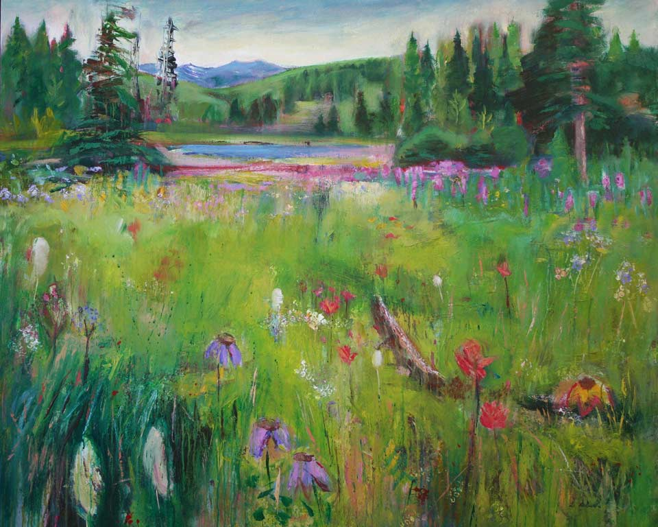 Acrylic Paintings Of Meadows