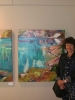 WATER STORIES, Bluerock Gallery Opening (Shimmer I & II)