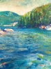 Bowen Island Cove (16x20 in)