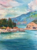 Bowen Island I (36x48 in) SOLD